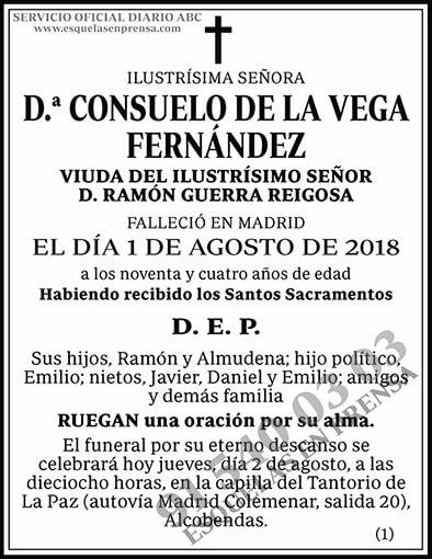 Consuelo de la Vega Fernández
